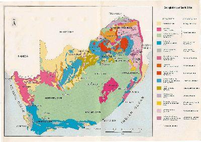 Carte Geologique Afrique Du Sud.Notes Sur Les Bulbes Sud Africains Une Experience De Leur