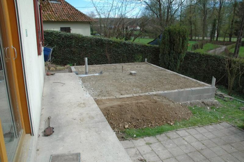 Bricolage construction d 39 une serre en bois et verre de 20m for Construire fenetre bois